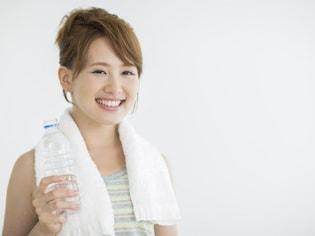 熱中症予防にはこまめな水分補給を