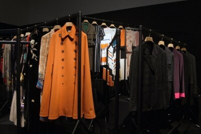 ずらりと並ぶ、歴代のコレクション