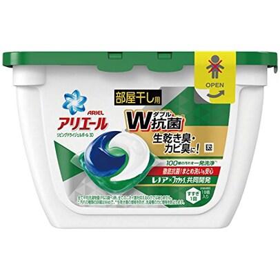 アリエール 洗濯洗剤 ジェルボール リビングドライジェルボールS 本体 352g(18個入)