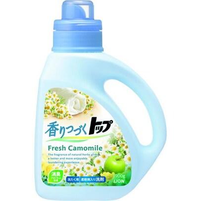 香りつづくトップ 洗濯洗剤 液体 フレッシュカモミール 本体 900g