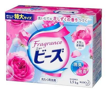 フレグランスニュービーズ 衣料用洗剤 粉末 花しずくの香り 1.5kg