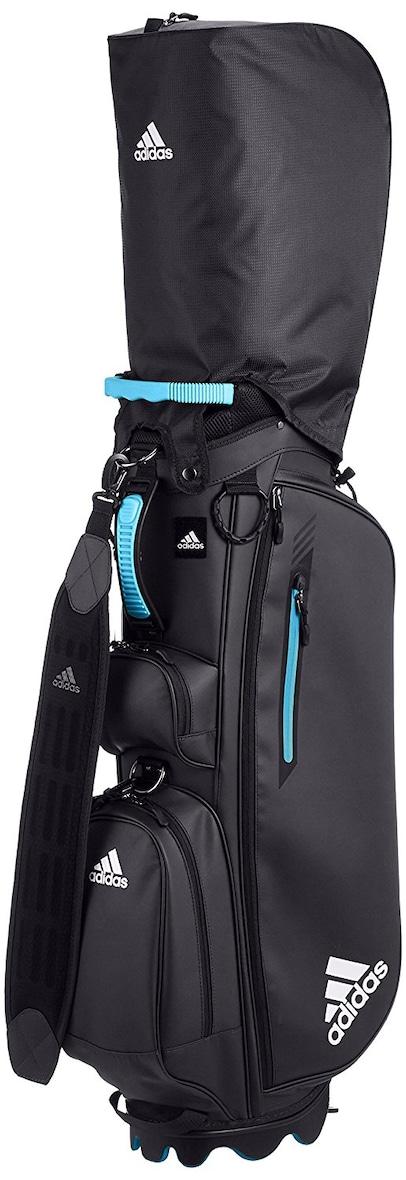 adidas Gole(アディダスゴルフ) マットPU ライトスタンドキャディバッグ AWT65