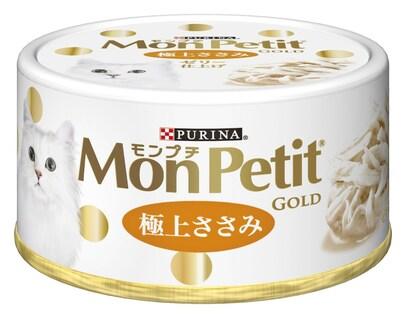 モンプチ ゴールド缶 極上ささみ 70g