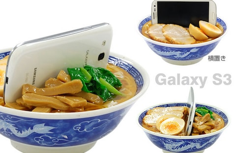 Stand Your Phone in a Ramen Bowl