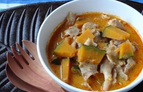 Pork & Pumpkin Red Curry