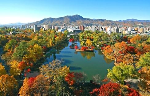 Explore Sapporo's Fall Color Spots by Subway