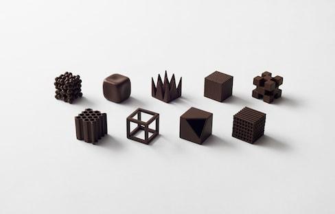 用巧克力學日語