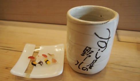 传说中真实存在的一粒寿司
