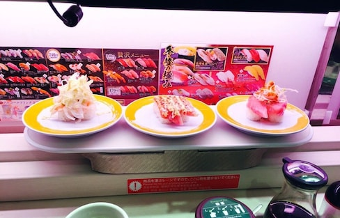Eat the Future with Automated Sushi
