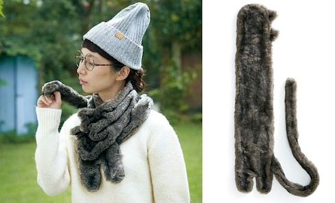 Keep Your Neck Warm with a Cat Scarf!