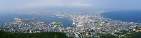 来自函馆山顶的你