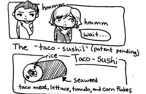 Taco-Sushi!