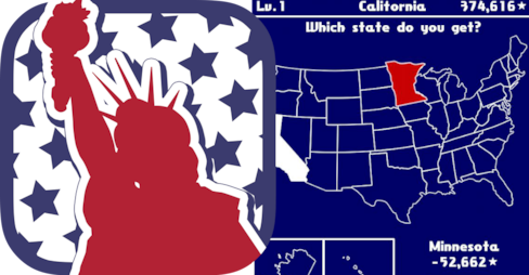 Mobile App Lets You 'Collect' US States