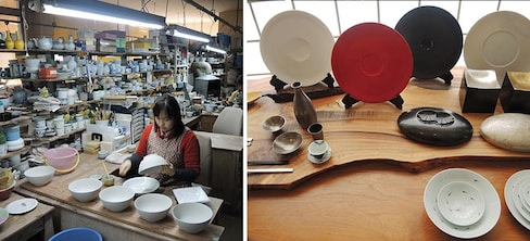 Japanese Porcelain Prized by Chefs Overseas