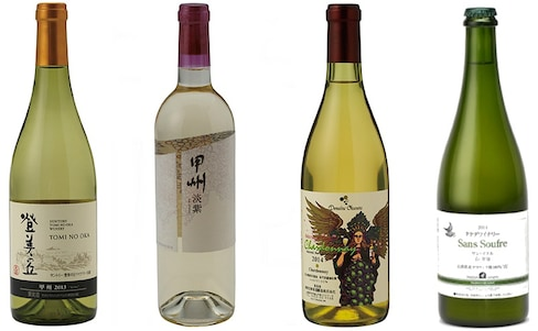4 Japanese Wines from The Wonder 500™