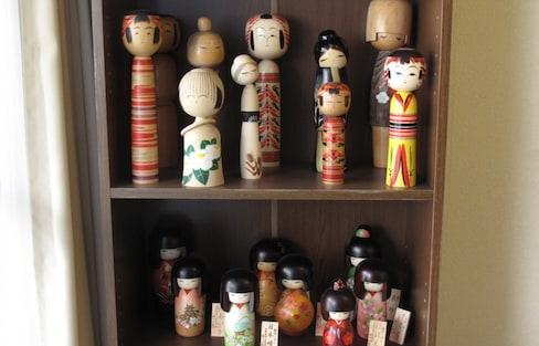 3 Top-of-the-Line Kokeshi Dolls