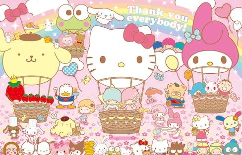 Kitty朋友会 — Sanrio旗下五大人气角色