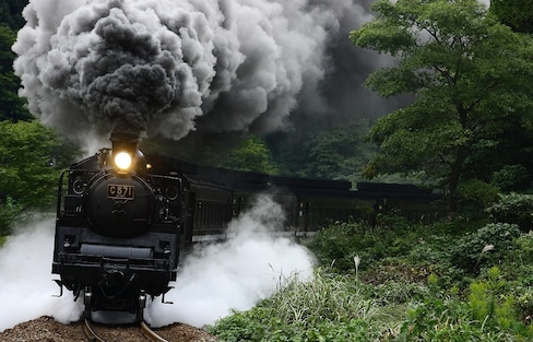 Ride 10 Gorgeous Steam Locomotives in Japan