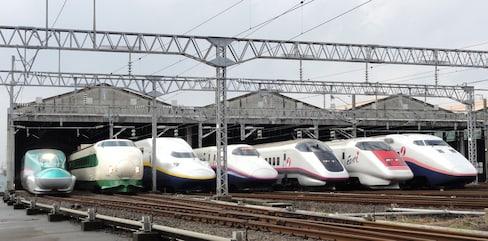The Shinkansen Network in Japan
