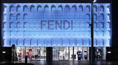 银座的Fendi Pop Up 店