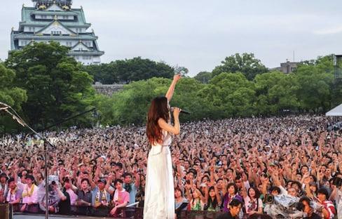 Superfly กับคอนเสิร์ตสุดร็อคที่ปราสาท Osaka