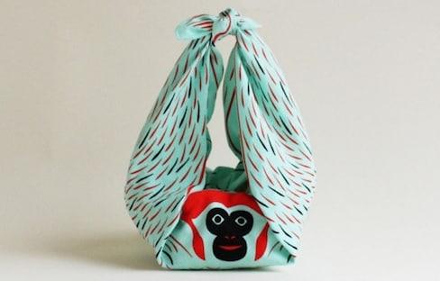 Grab Hold of These Hanging Animal 'Furoshiki'