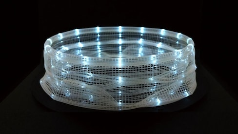 3-D-Printed Zoetrope Captures Time & Movement