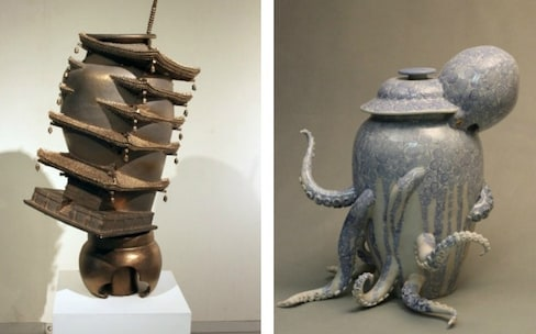 Otherworldly Transformation of Simple Ceramics