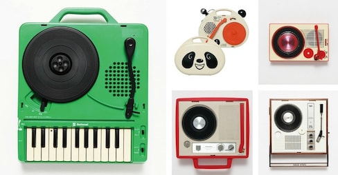 Japanese Portable Record Players Exhibition