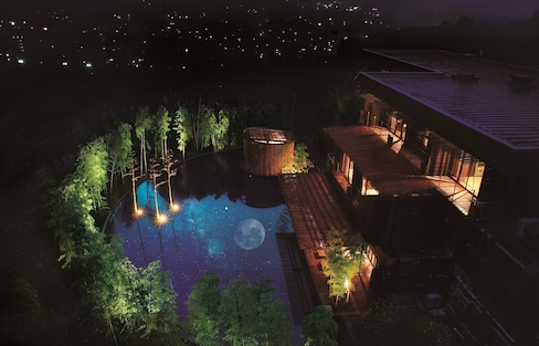 The Ryokan Designed After a Moon Princess
