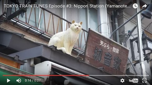 Explore the Yamanote through Song