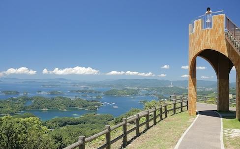 體驗豪華巴士「海風」號巡遊 盡情暢遊九州・佐世保、九十九島海港之旅