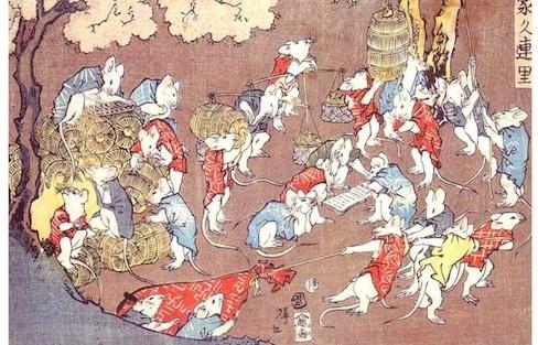 เมื่อ 7 ปรมาจารย์อุคิโยเอะ วาดภาพสัตว์