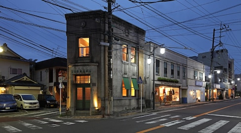 Legendary Art Director Turns a Bank into a Bar