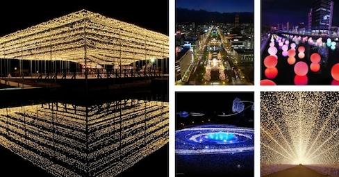 Japan Gets Lit with Seasonal Illuminations