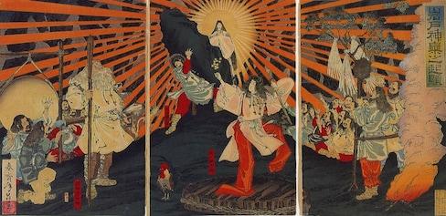 10 เทพเจ้าของญี่ปุ่น