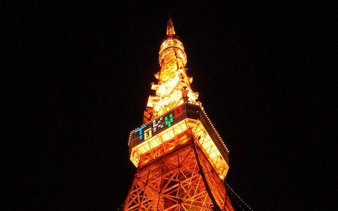 Be Absolutely Dazzled by Tokyo at Night
