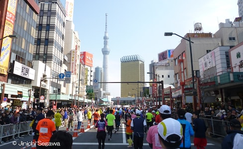 Tokyo Marathon: From Start to Finish