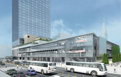 The Biggest Highway Bus Terminal in Tokyo