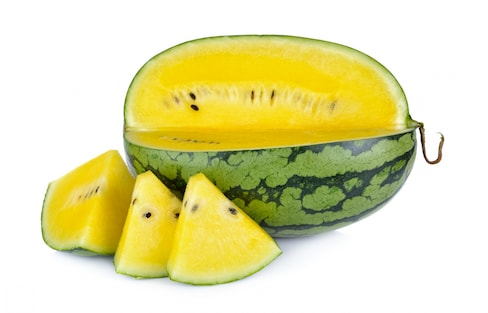 Wait, What?! A Yellow Watermelon?