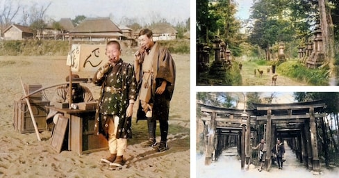 Historic Photos of Japan Brought to Life by AI