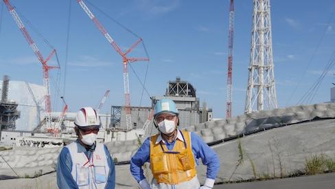 Fukushima Daiichi Nuclear Power Plant in 2017