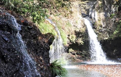 Jinba Falls: Crystal Clear Fuji Water