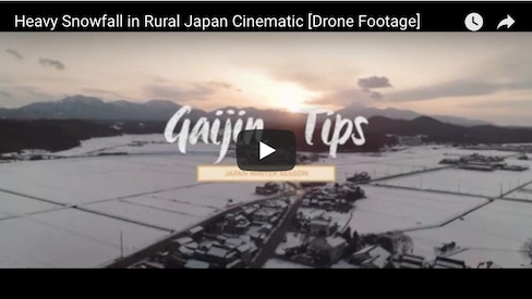 Beautiful Scenes of Snowy Tottori