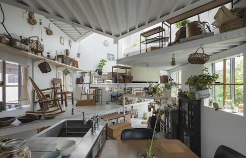 A Home Embracing the Art of Clutter