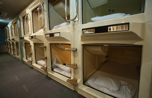 How to Stay at a Capsule Hotel in Japan