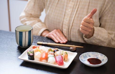 特别的技能送给特别的你:保持瘦身与享受寿司两不误