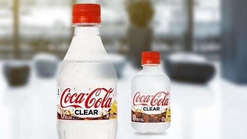 """세계최초! """"코카콜라 클리어""""를 마셔봤습니다!"""