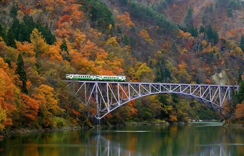 【福島自由行】戀戀鐵道 奧會津只見線秋日賞楓之旅
