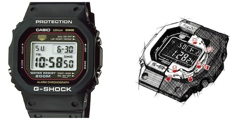 The Origins of the Tough G-SHOCK Watch